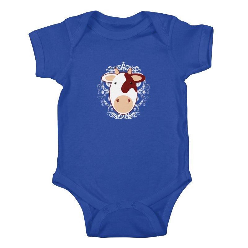 Cowwy Kids Baby Bodysuit by Ideacrylic Shop