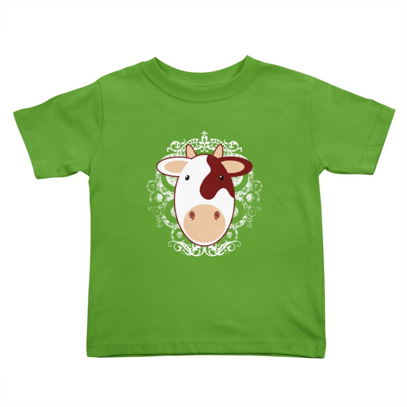 Cowwy Kids Toddler T-Shirt by Ideacrylic Shop