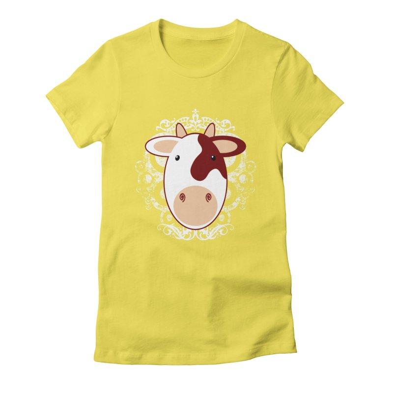 Cowwy Women's T-Shirt by Ideacrylic Shop