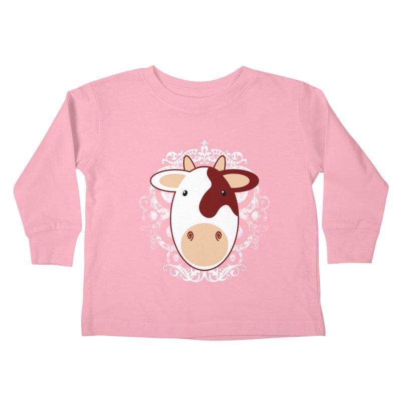 Cowwy Kids Toddler Longsleeve T-Shirt by Ideacrylic Shop