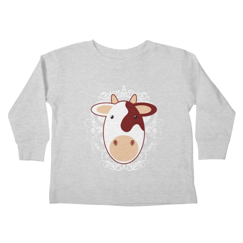 Cowwy Kids Toddler Longsleeve T-Shirt by Ideacrylic Shop