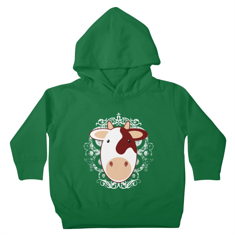 Cowwy Kids Toddler Pullover Hoody by Ideacrylic Shop