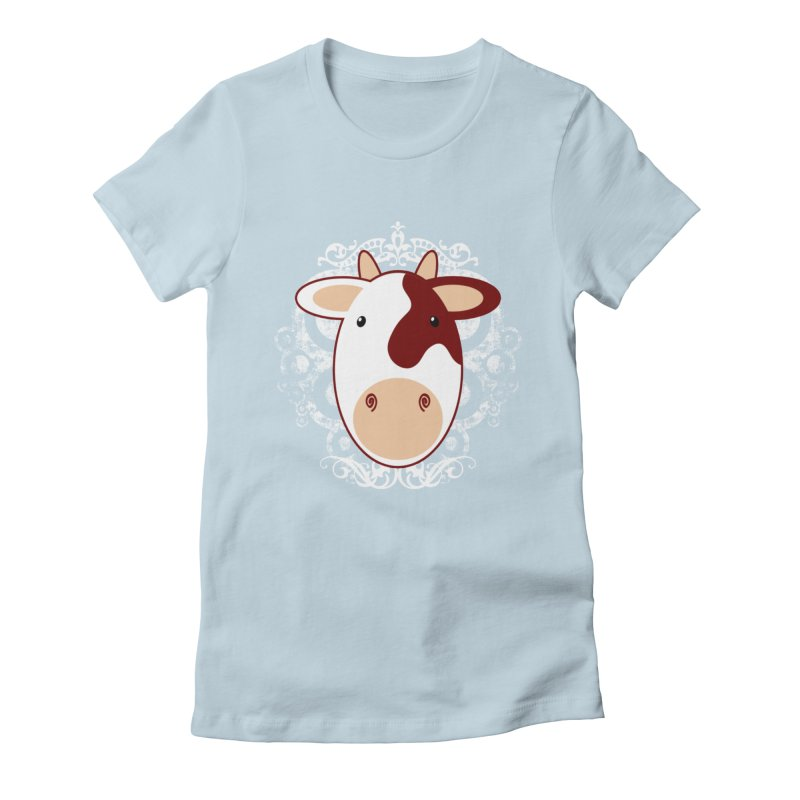 Cowwy Women's T-Shirt by Ideacrylic Shop