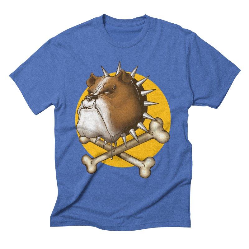 Mad Dog Men's T-Shirt by Ideacrylic Shop