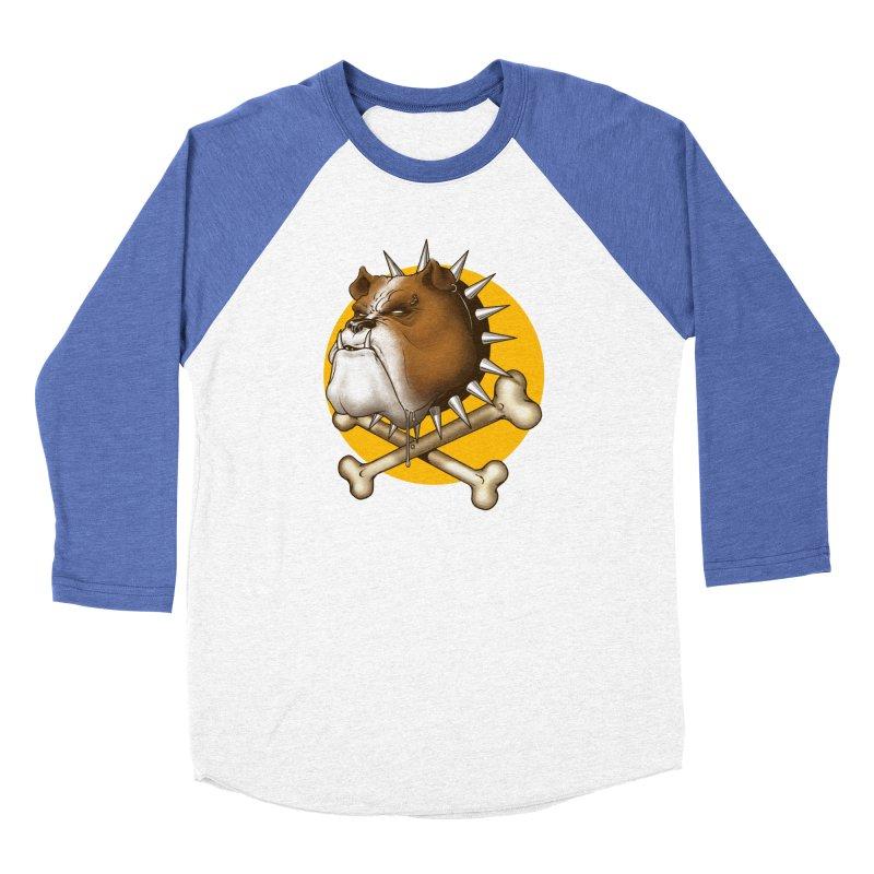 Mad Dog Women's Baseball Triblend Longsleeve T-Shirt by Ideacrylic Shop