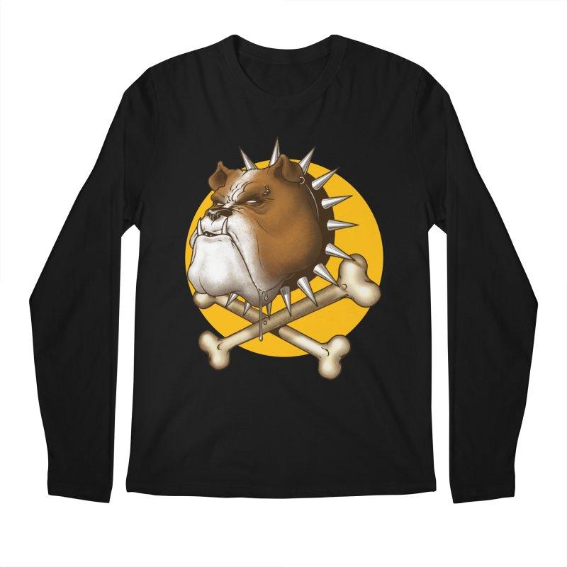 Mad Dog Men's Regular Longsleeve T-Shirt by Ideacrylic Shop