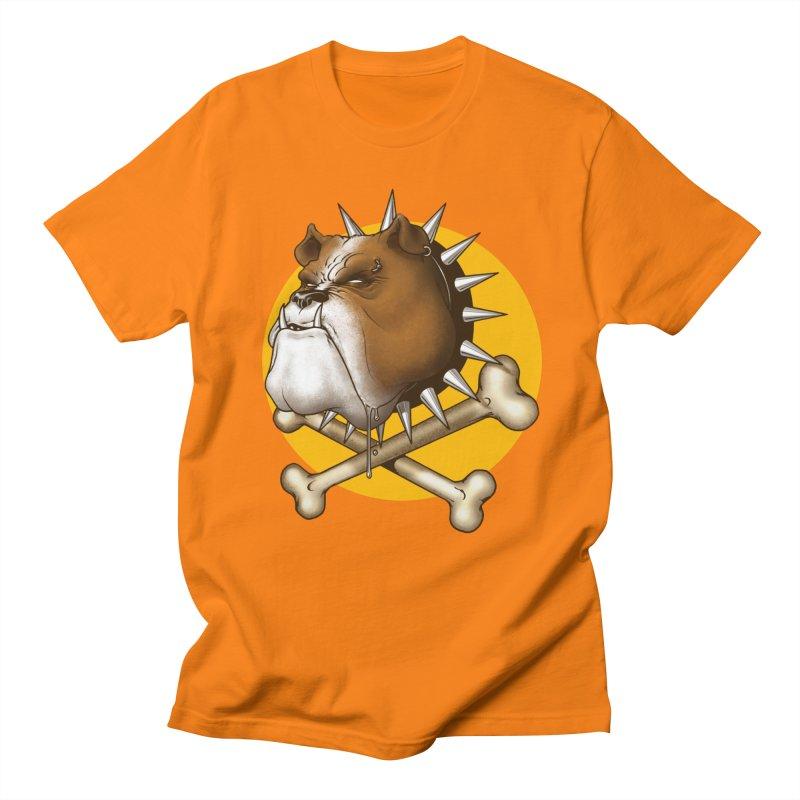 Mad Dog Men's Regular T-Shirt by Ideacrylic Shop