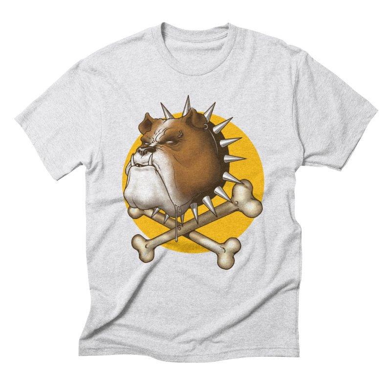 Mad Dog Men's Triblend T-Shirt by Ideacrylic Shop
