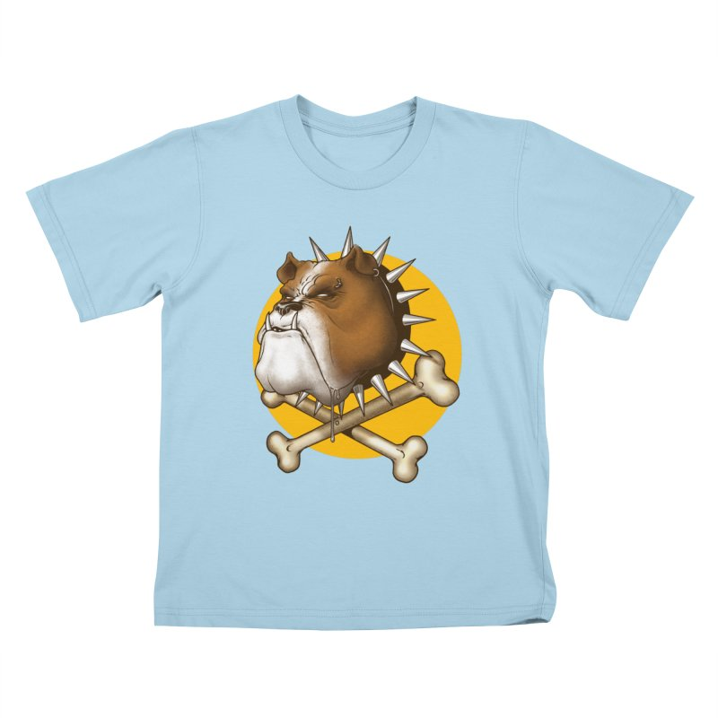 Mad Dog Kids T-Shirt by Ideacrylic Shop
