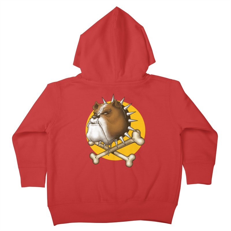 Mad Dog Kids Toddler Zip-Up Hoody by Ideacrylic Shop