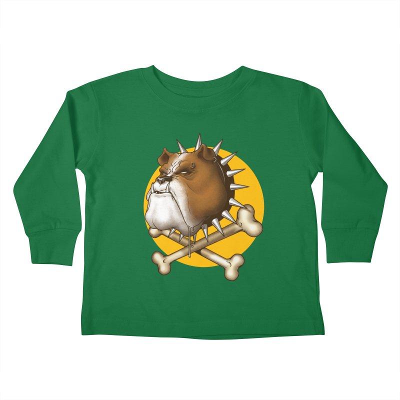 Mad Dog Kids Toddler Longsleeve T-Shirt by Ideacrylic Shop