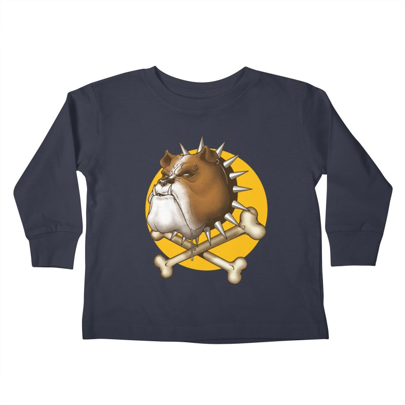 Mad Dog Kids Toddler Longsleeve T-Shirt by Ideacrylic Shop