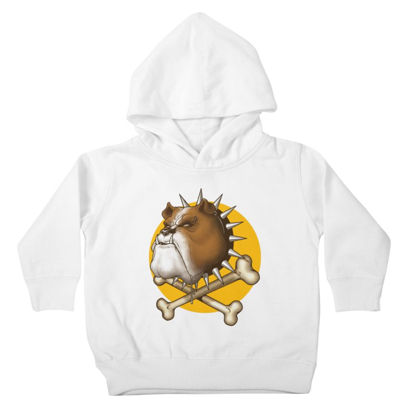 Mad Dog Kids Toddler Pullover Hoody by Ideacrylic Shop