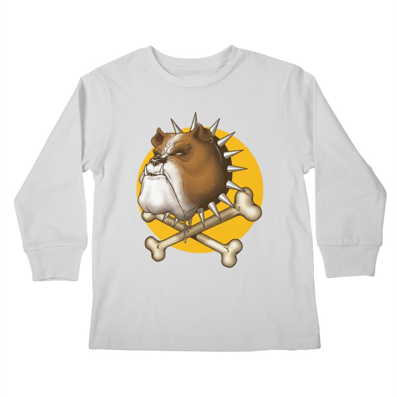 Mad Dog Kids Longsleeve T-Shirt by Ideacrylic Shop