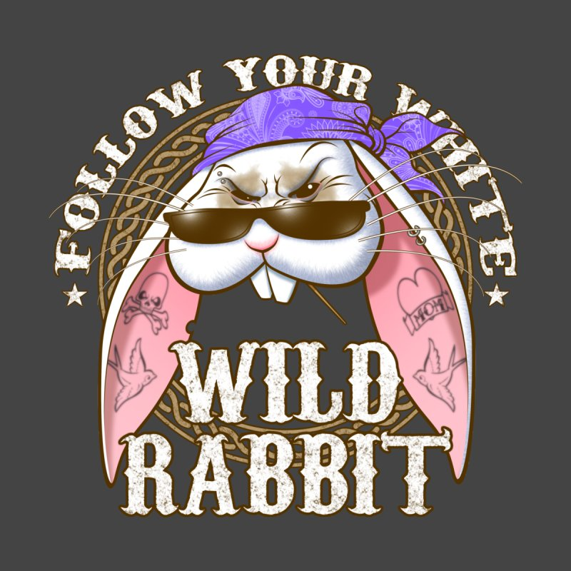 Wild Rabbit Men's T-Shirt by Ideacrylic Shop