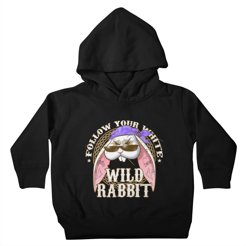 Wild Rabbit Kids Toddler Pullover Hoody by Ideacrylic Shop