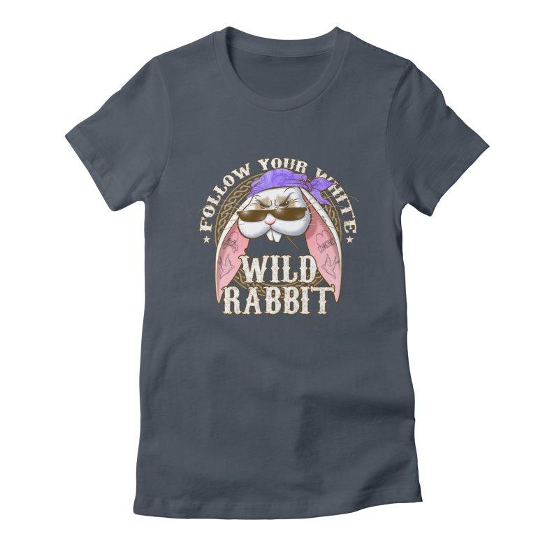 Wild Rabbit Women's T-Shirt by Ideacrylic Shop
