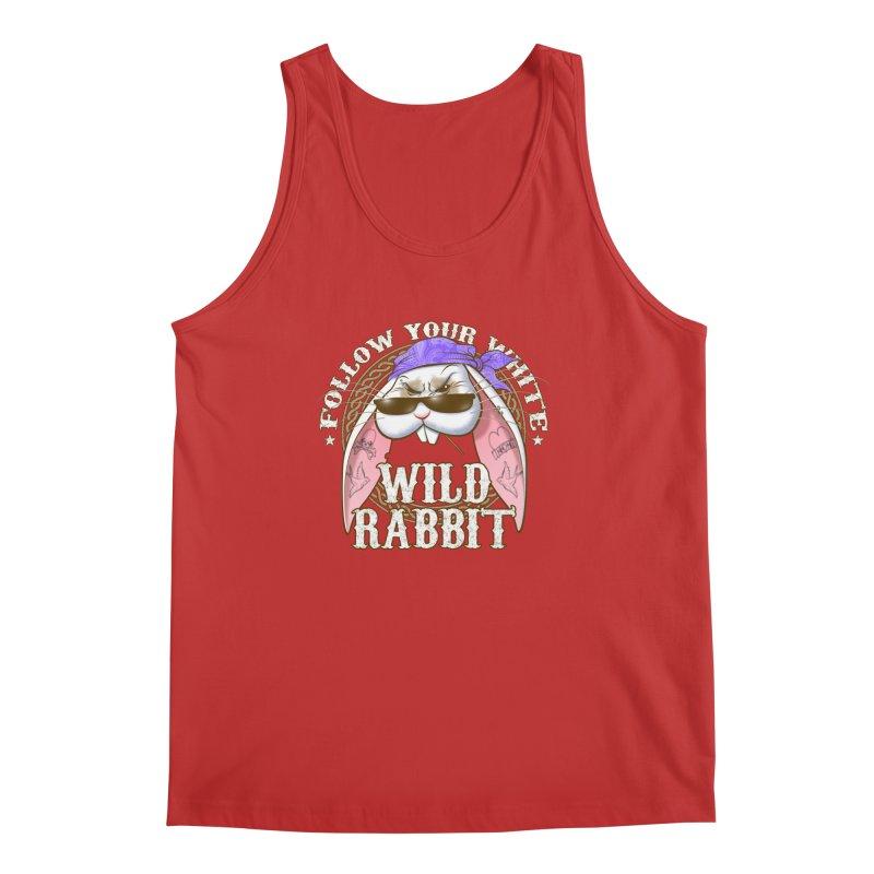 Wild Rabbit Men's Regular Tank by Ideacrylic Shop