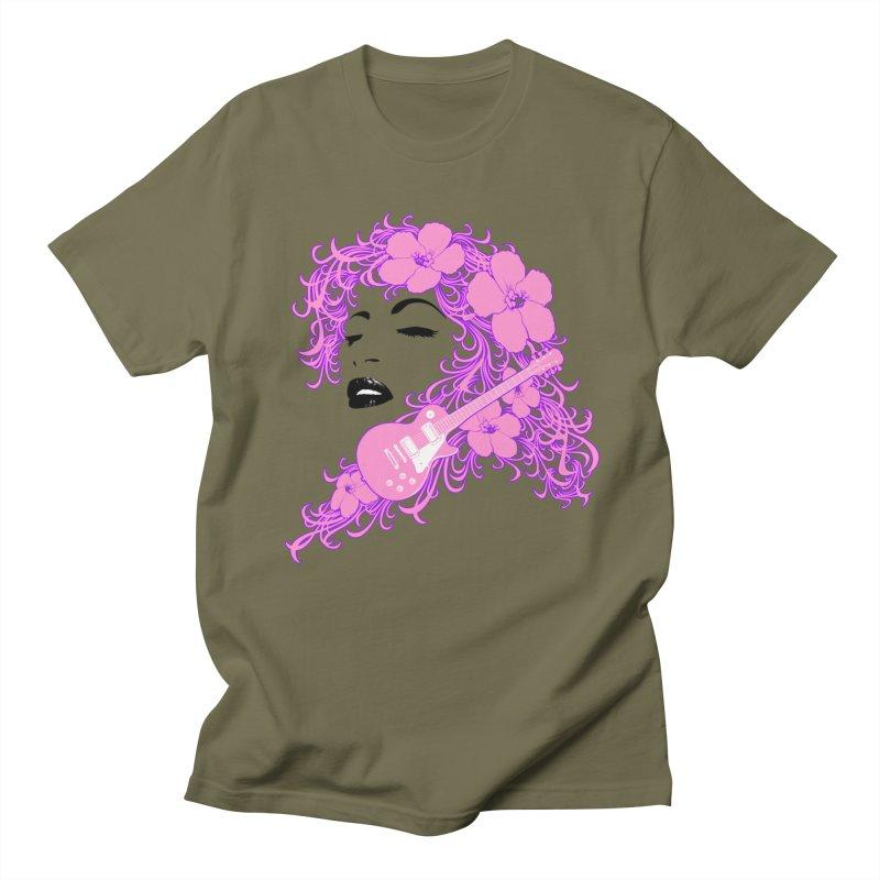 Lady Flo Men's T-Shirt by Ideacrylic Shop