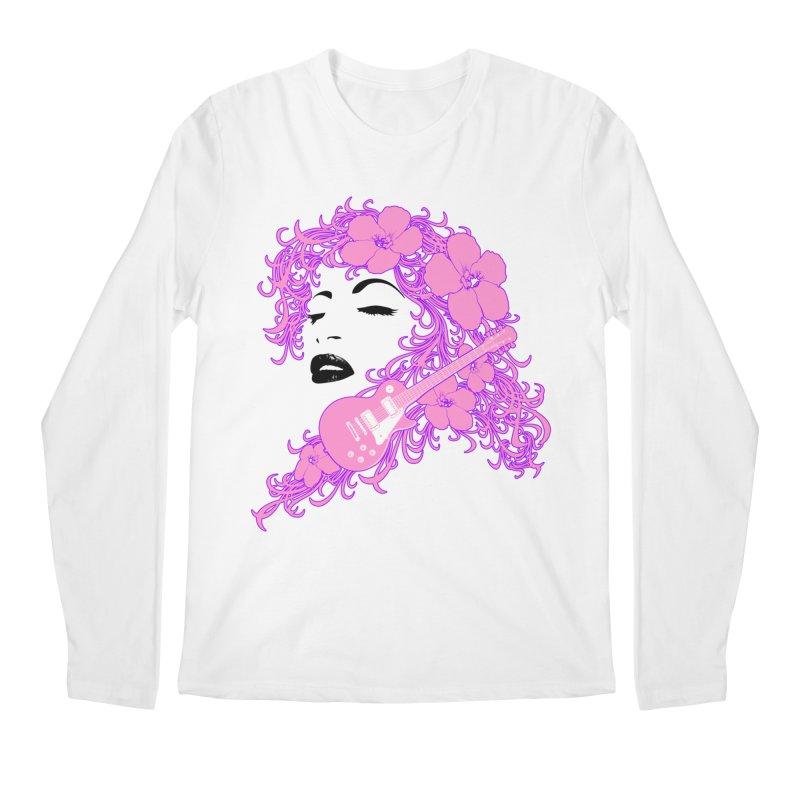 Lady Flo Men's Regular Longsleeve T-Shirt by Ideacrylic Shop