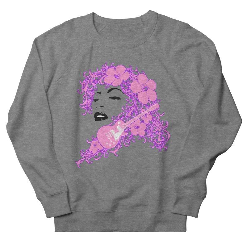 Lady Flo Women's French Terry Sweatshirt by Ideacrylic Shop