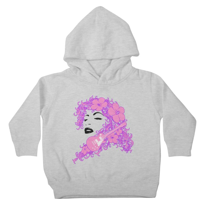 Lady Flo Kids Toddler Pullover Hoody by Ideacrylic Shop