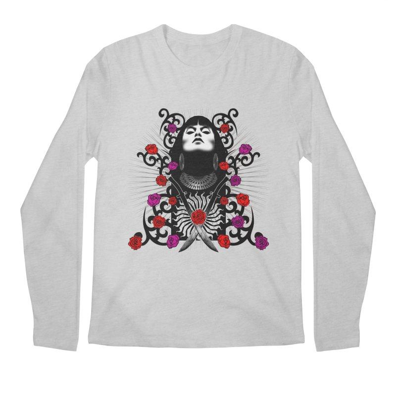 Barbara Men's Regular Longsleeve T-Shirt by Ideacrylic Shop