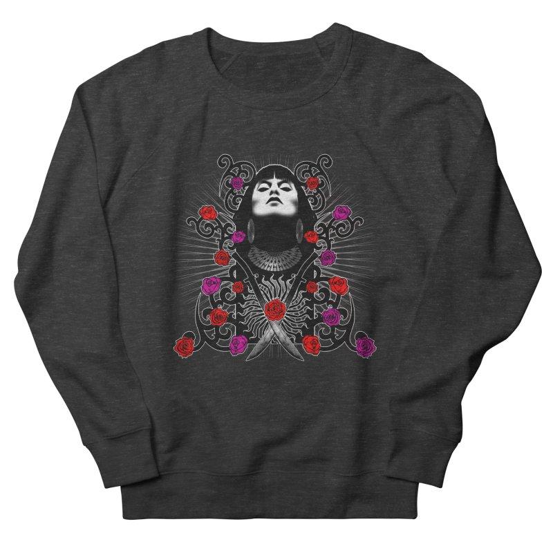 Barbara Women's French Terry Sweatshirt by Ideacrylic Shop