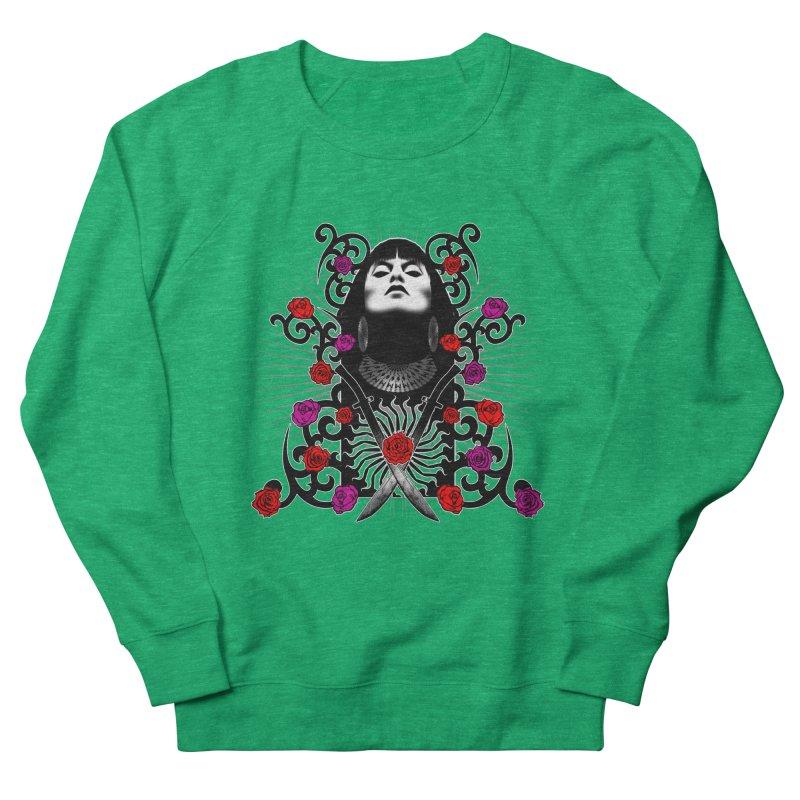 Barbara Men's French Terry Sweatshirt by Ideacrylic Shop