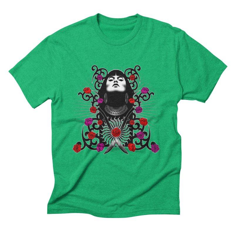Barbara Men's Triblend T-Shirt by Ideacrylic Shop