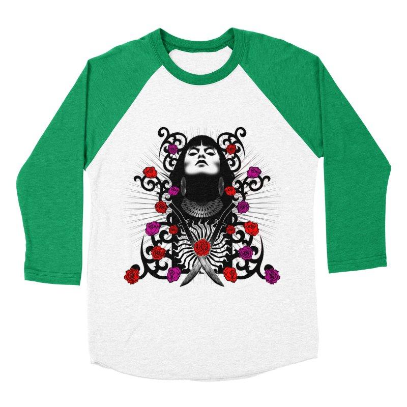 Barbara Men's Baseball Triblend Longsleeve T-Shirt by Ideacrylic Shop