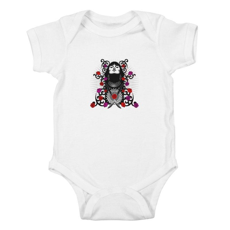Barbara Kids Baby Bodysuit by Ideacrylic Shop
