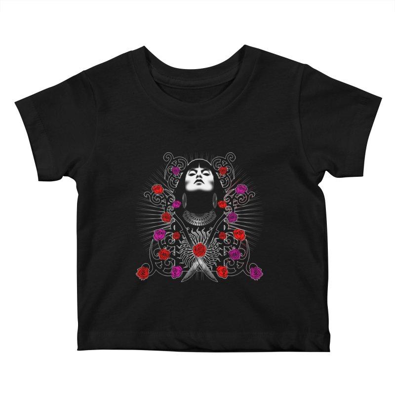 Barbara Kids Baby T-Shirt by Ideacrylic Shop