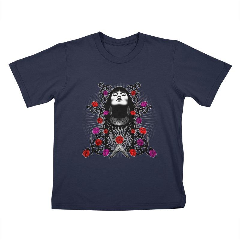 Barbara Kids T-Shirt by Ideacrylic Shop