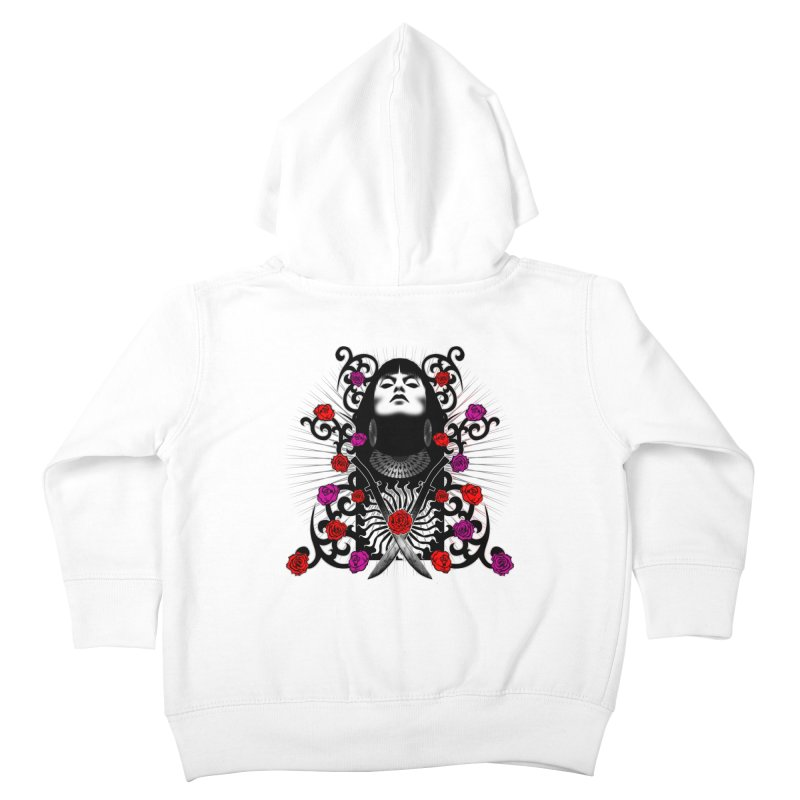 Barbara Kids Toddler Zip-Up Hoody by Ideacrylic Shop