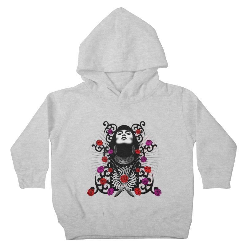 Barbara Kids Toddler Pullover Hoody by Ideacrylic Shop