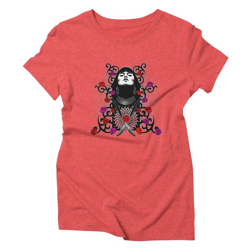 Barbara Women's Triblend T-Shirt by Ideacrylic Shop