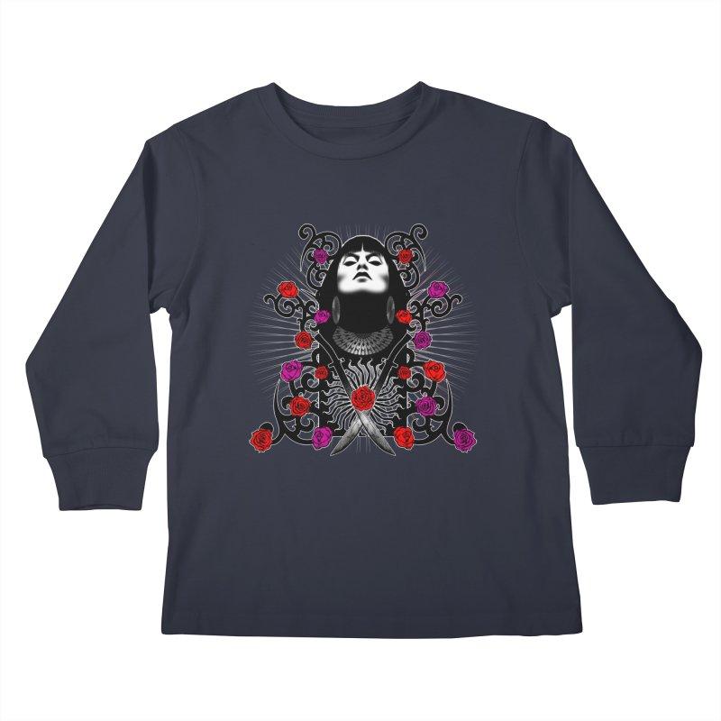 Barbara Kids Longsleeve T-Shirt by Ideacrylic Shop