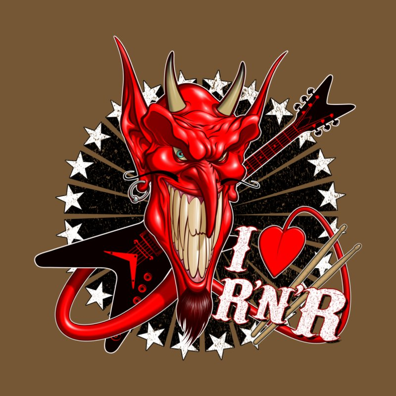 I ❤ R'n'R  Men's T-Shirt by Ideacrylic Shop
