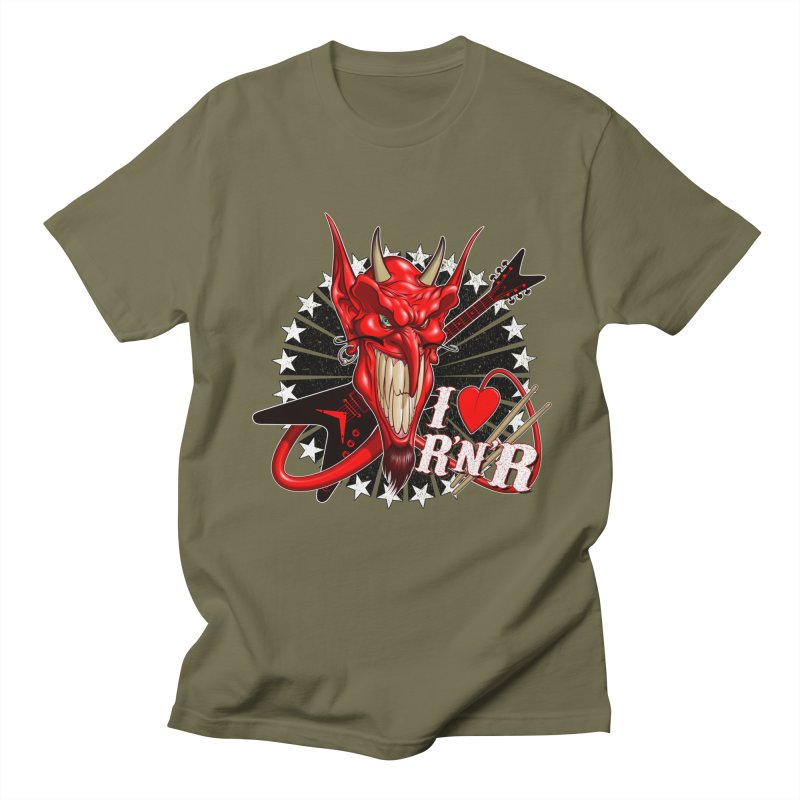 I ❤ R'n'R  Men's T-Shirt by Ideacrylic Shop