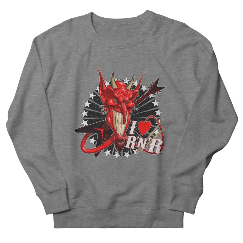 I ❤ R'n'R  Women's French Terry Sweatshirt by Ideacrylic Shop