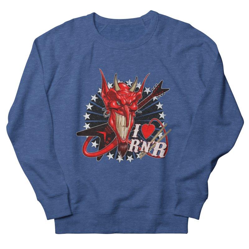 I ❤ R'n'R  Men's French Terry Sweatshirt by Ideacrylic Shop