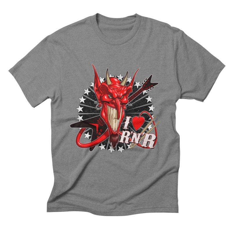 I ❤ R'n'R  Men's Triblend T-Shirt by Ideacrylic Shop