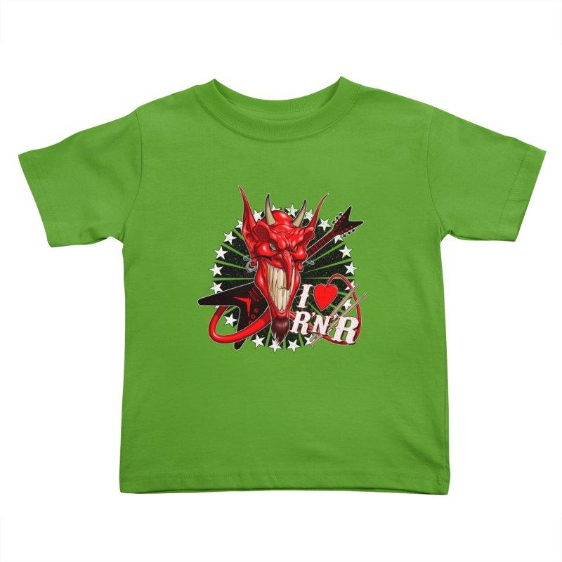 I ❤ R'n'R  Kids Toddler T-Shirt by Ideacrylic Shop