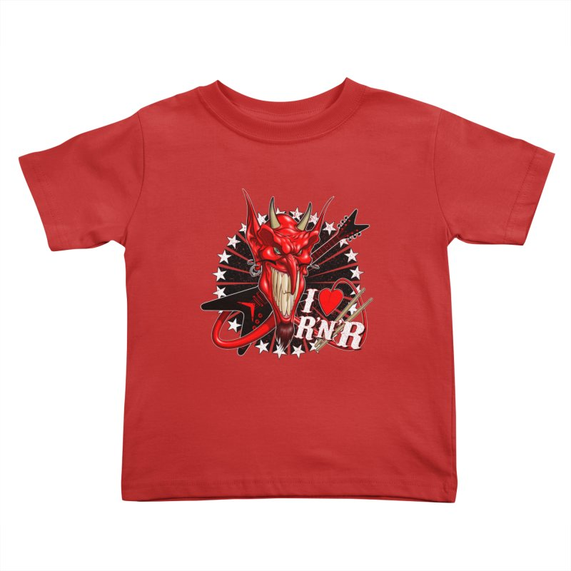 I ❤ R'n'R  Kids Toddler T-Shirt by Ideacrylic Shop