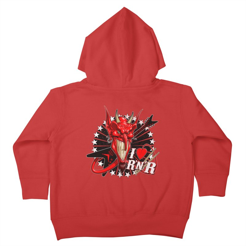 I ❤ R'n'R  Kids Toddler Zip-Up Hoody by Ideacrylic Shop