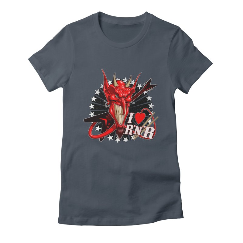 I ❤ R'n'R  Women's T-Shirt by Ideacrylic Shop