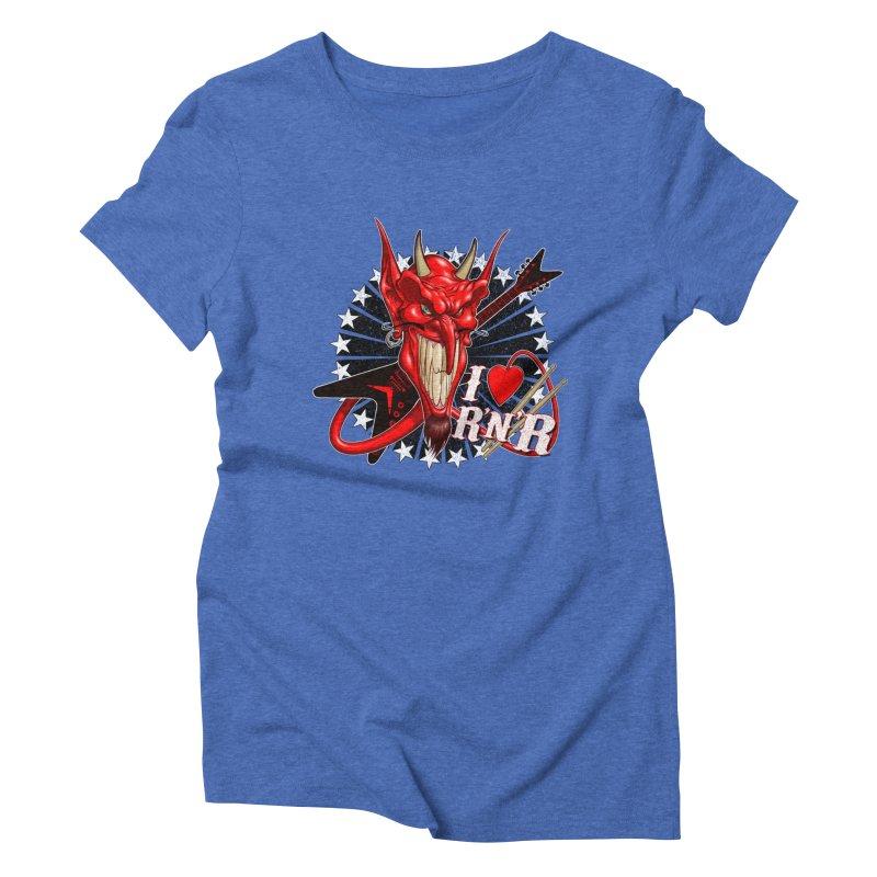 I ❤ R'n'R  Women's T-Shirt by Ideacrylic Shop