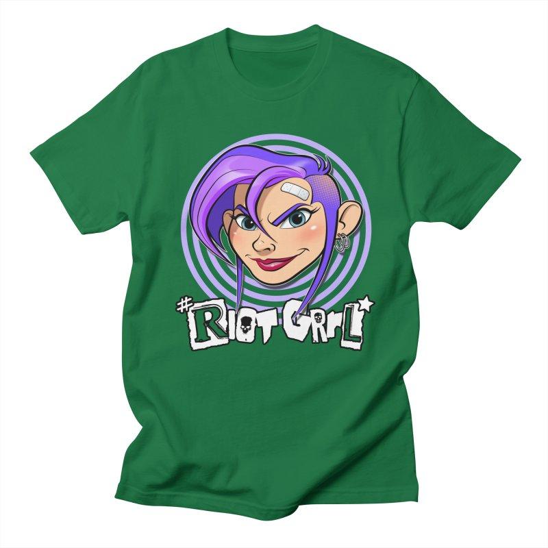 Riot Grrl Men's T-Shirt by Ideacrylic Shop