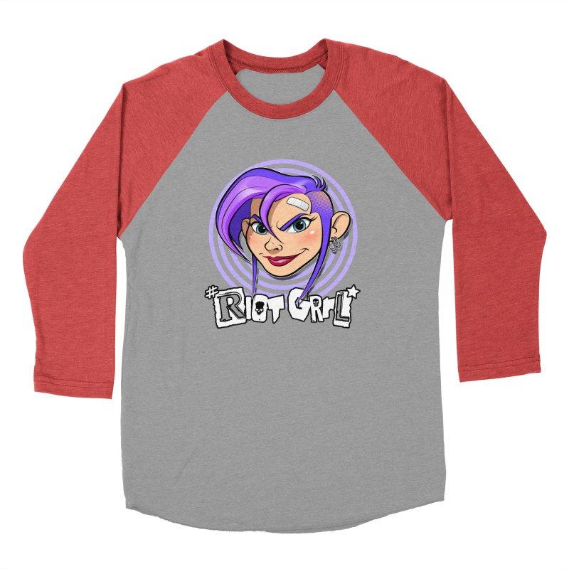 Riot Grrl Men's Longsleeve T-Shirt by Ideacrylic Shop
